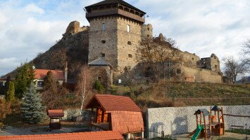 Castle and Castle hill of Fülek / Filakovo