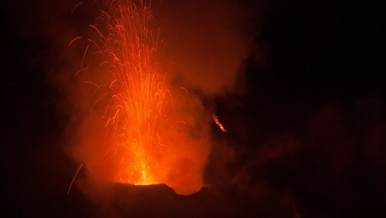The volcanic catastrophe